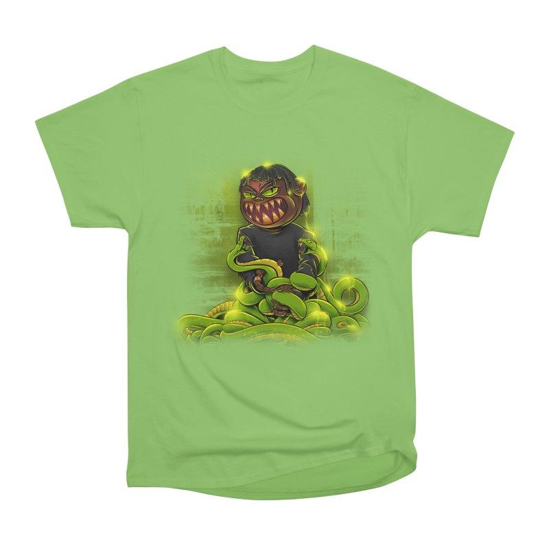 Toxic snakes Women's Heavyweight Unisex T-Shirt by fishark's Artist Shop