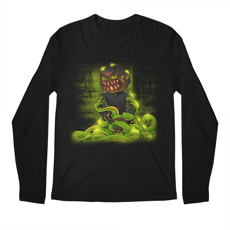 Toxic snakes Men's Regular Longsleeve T-Shirt by fishark's Artist Shop
