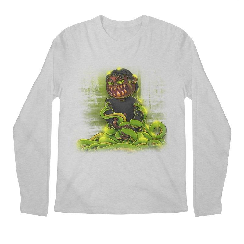 Toxic snakes Men's Longsleeve T-Shirt by fishark's Artist Shop
