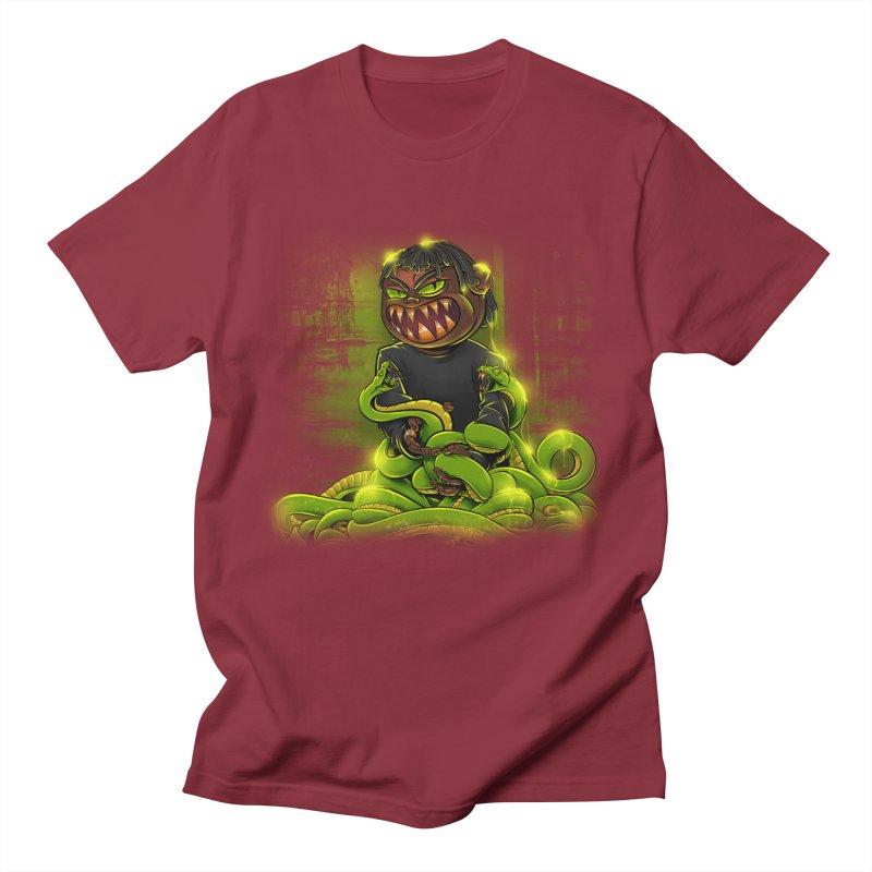 Toxic snakes Men's Regular T-Shirt by fishark's Artist Shop