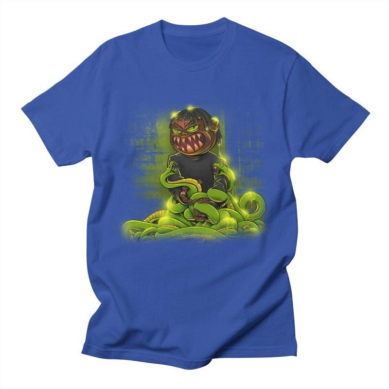 Toxic snakes Women's Regular Unisex T-Shirt by fishark's Artist Shop