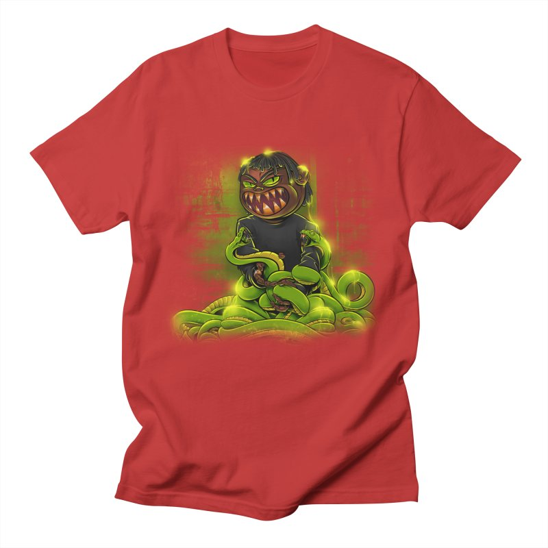 Toxic snakes Men's T-Shirt by fishark's Artist Shop
