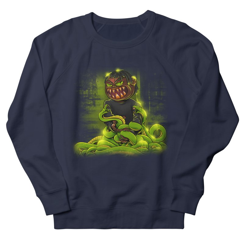 Toxic snakes Women's French Terry Sweatshirt by fishark's Artist Shop