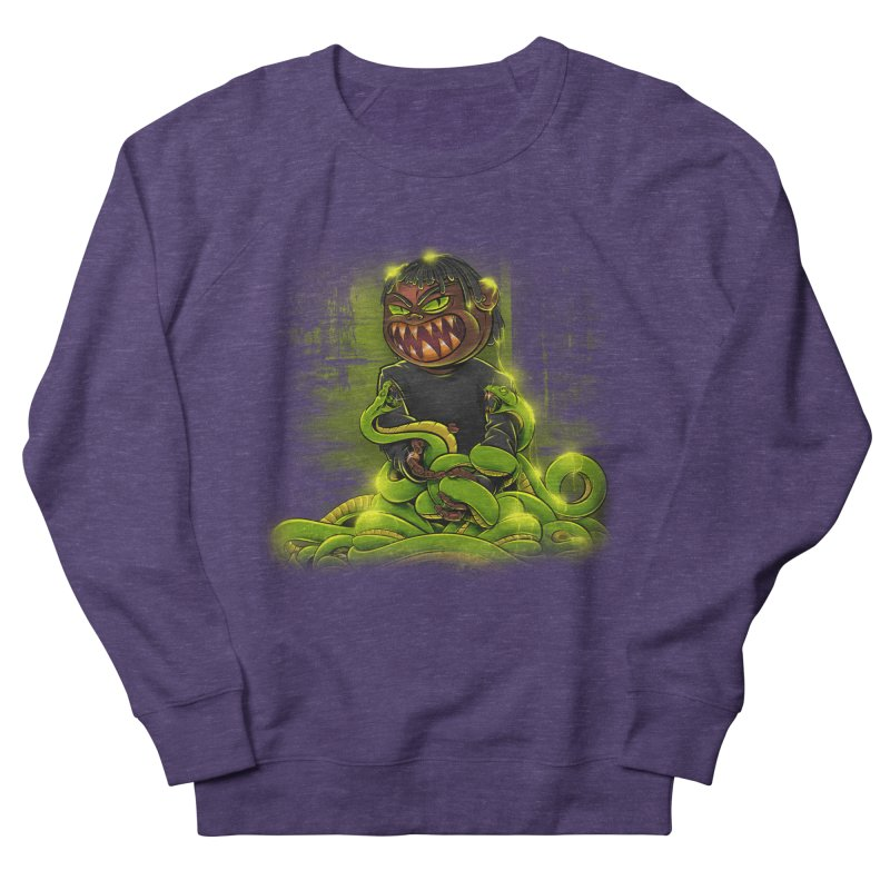 Toxic snakes Men's French Terry Sweatshirt by fishark's Artist Shop