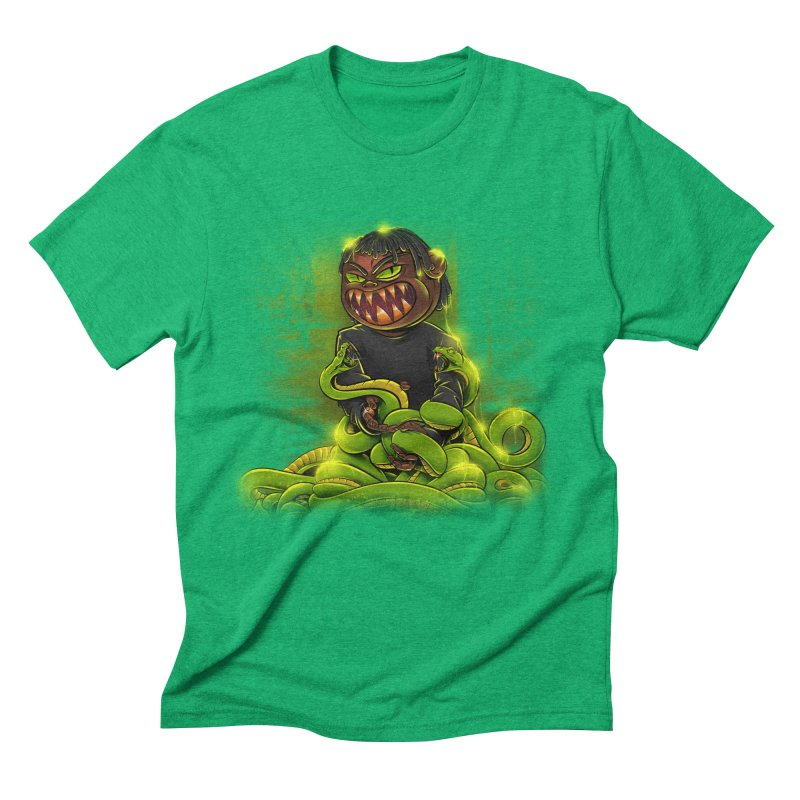 Toxic snakes Men's Triblend T-Shirt by fishark's Artist Shop