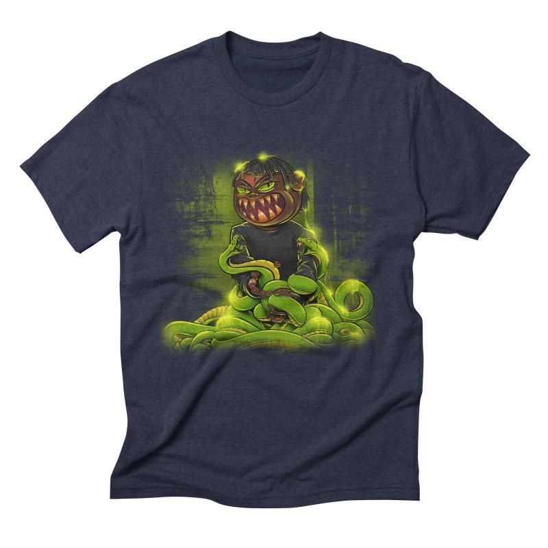 Toxic snakes Men's Triblend T-Shirt by fishark's Artist Shop