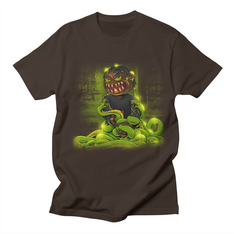 Toxic snakes Men's Regular T-Shirt by fishark's Artist Shop