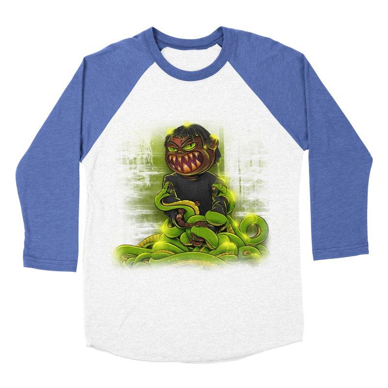 Toxic snakes Men's Baseball Triblend Longsleeve T-Shirt by fishark's Artist Shop