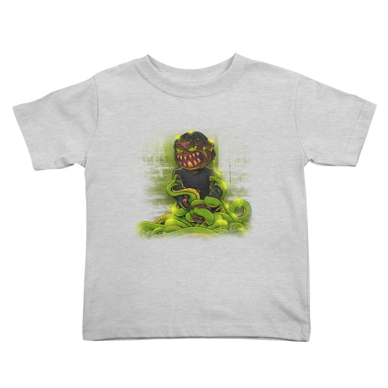 Toxic snakes Kids Toddler T-Shirt by fishark's Artist Shop