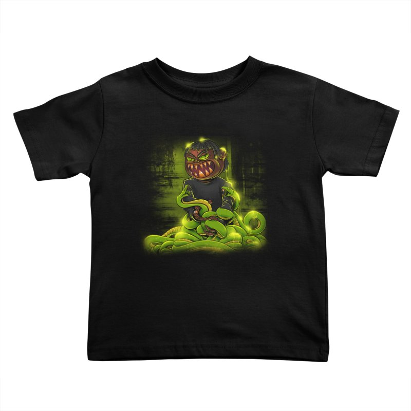 Toxic snakes Kids Toddler T-Shirt by fishark's Artist Shop