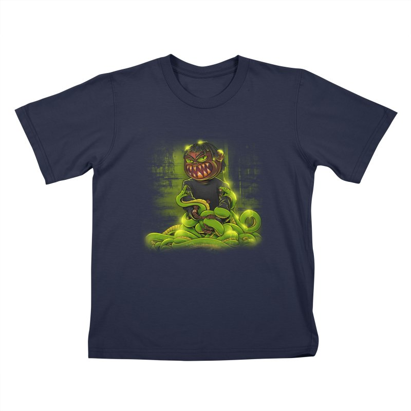Toxic snakes Kids T-Shirt by fishark's Artist Shop