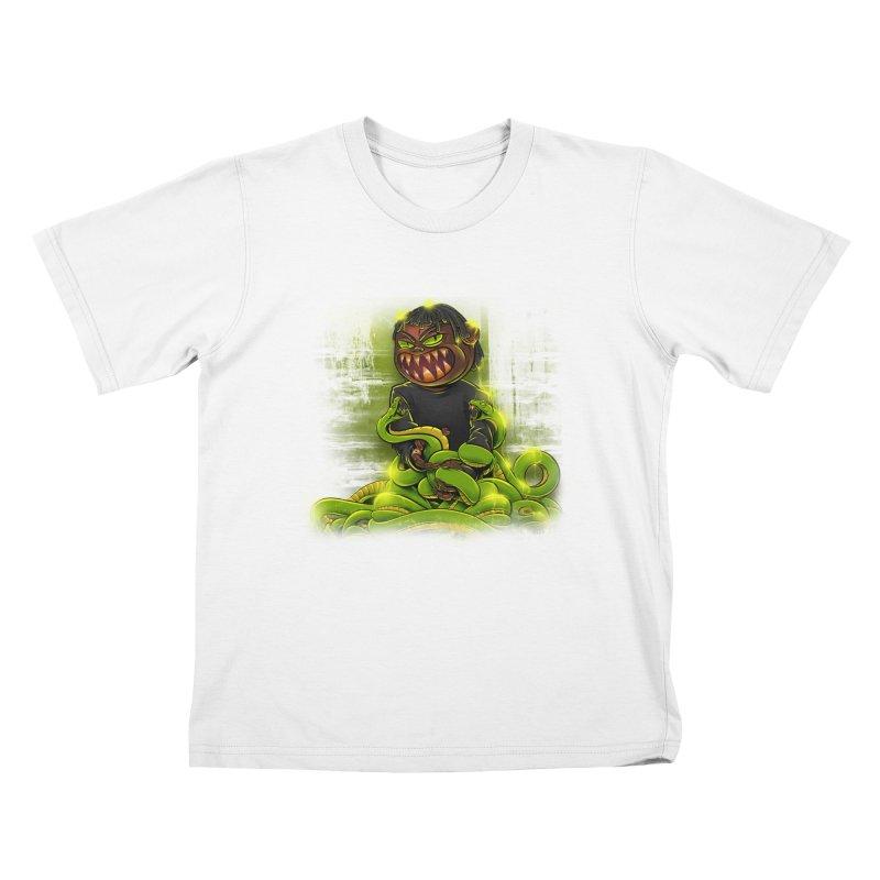 Toxic snakes Kids T-Shirt by fishark's Artist Shop