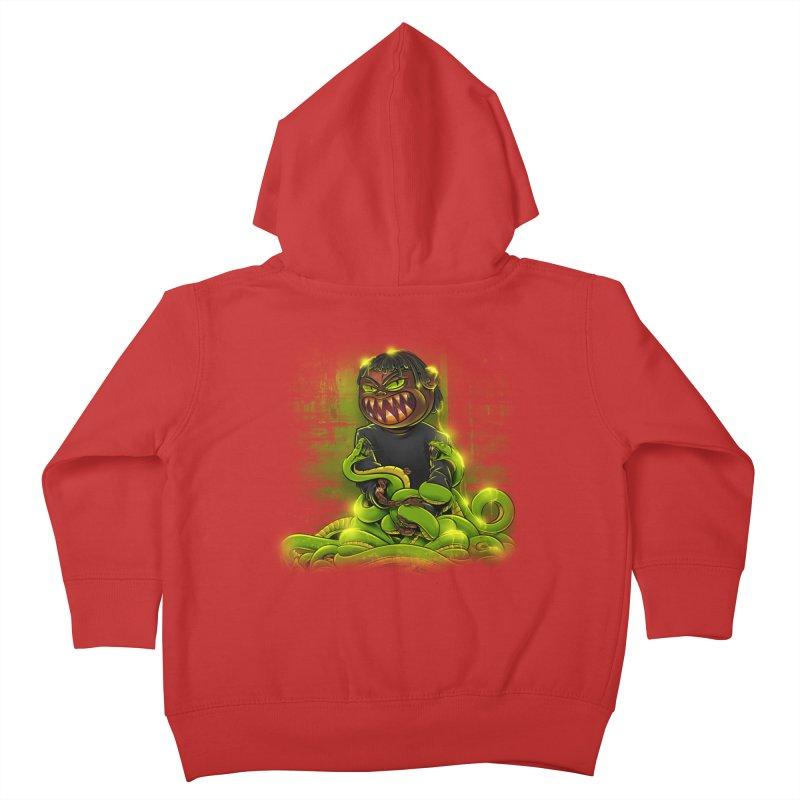 Toxic snakes Kids Toddler Zip-Up Hoody by fishark's Artist Shop