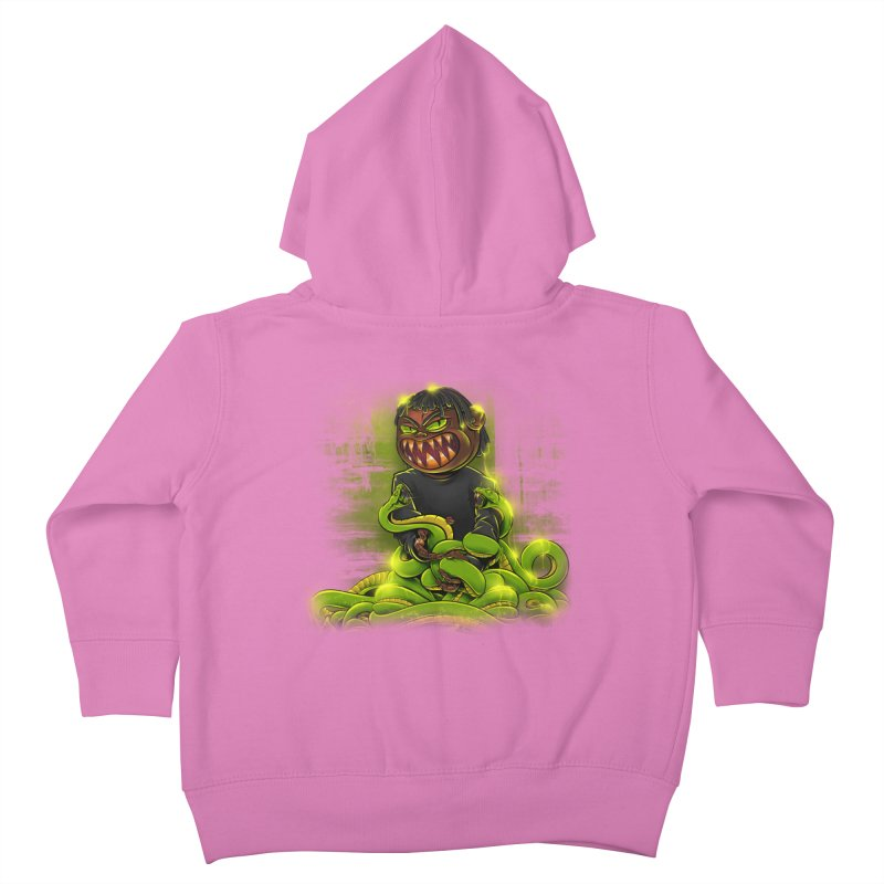 Toxic snakes Kids Toddler Zip-Up Hoody by fishark's Artist Shop