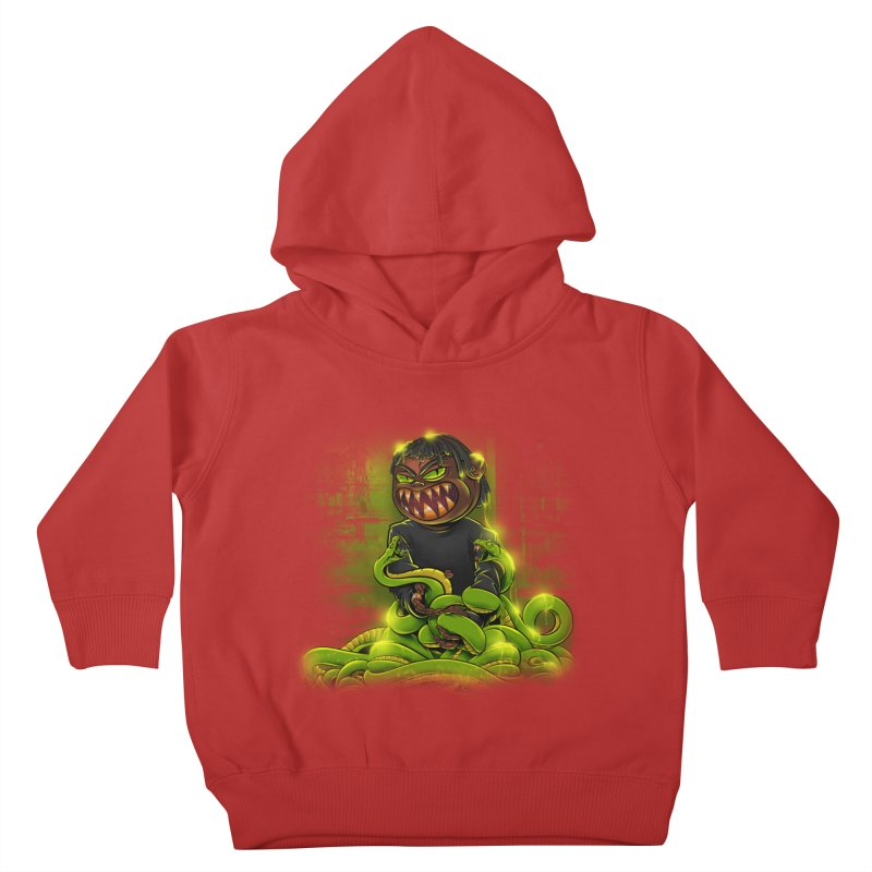 Toxic snakes Kids Toddler Pullover Hoody by fishark's Artist Shop