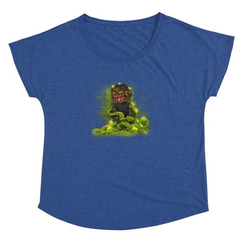 Toxic snakes Women's Dolman Scoop Neck by fishark's Artist Shop