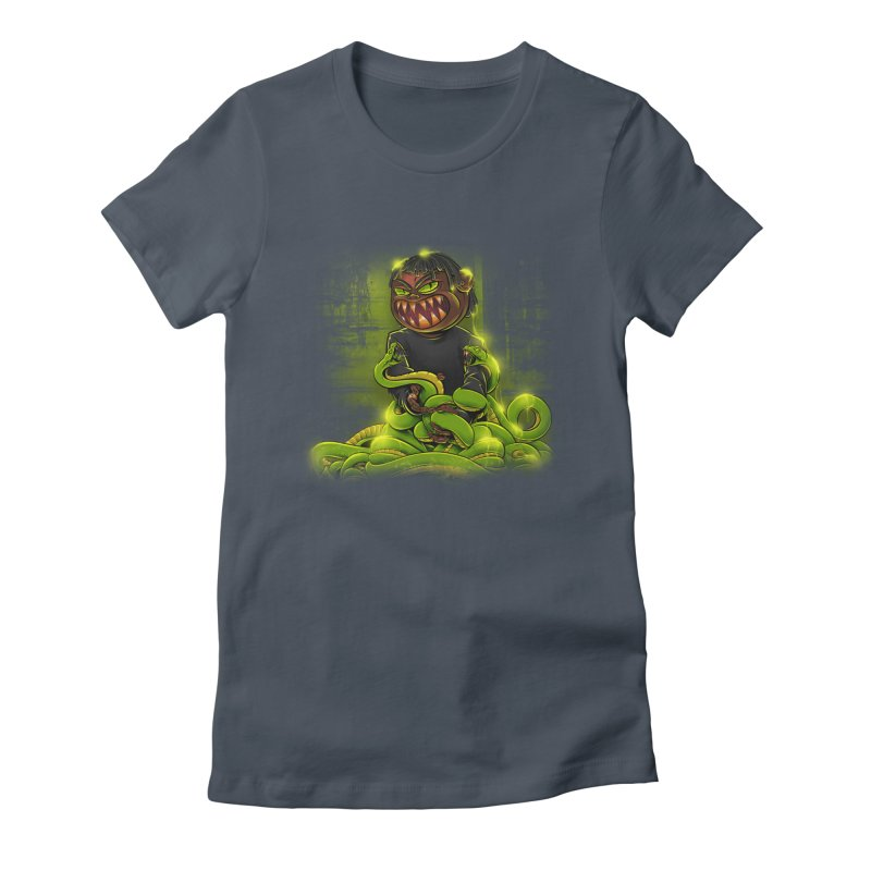 Toxic snakes Women's T-Shirt by fishark's Artist Shop