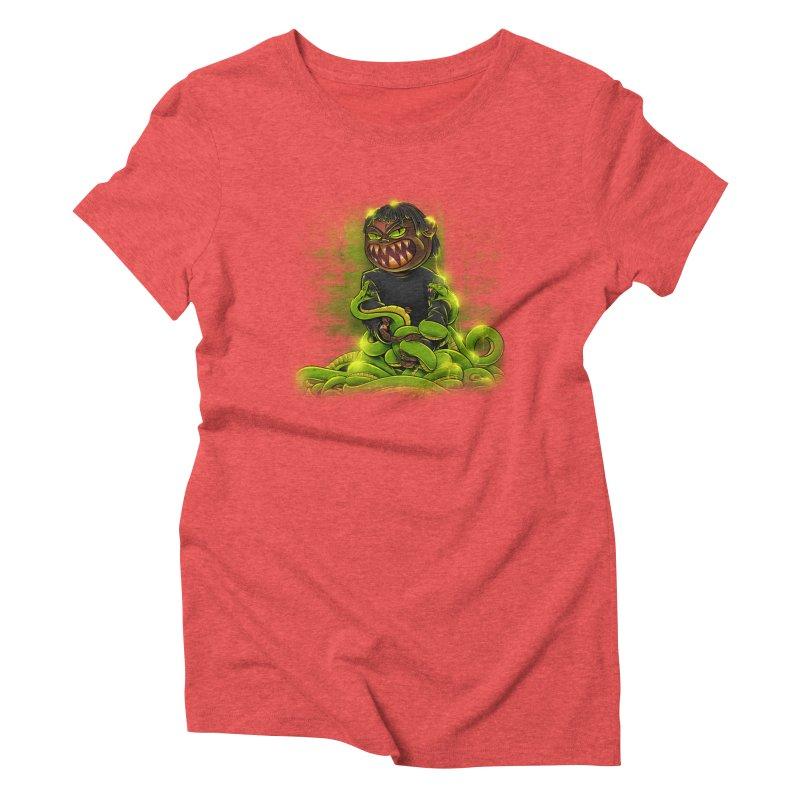 Toxic snakes Women's Triblend T-Shirt by fishark's Artist Shop