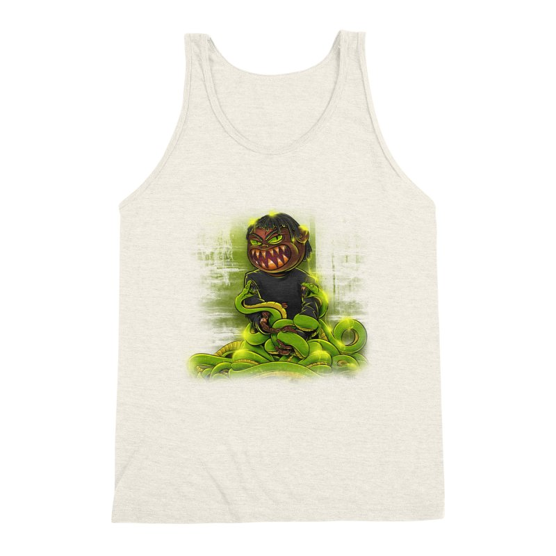 Toxic snakes Men's Triblend Tank by fishark's Artist Shop