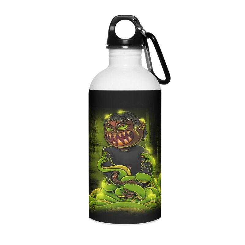 Toxic snakes Accessories Water Bottle by fishark's Artist Shop