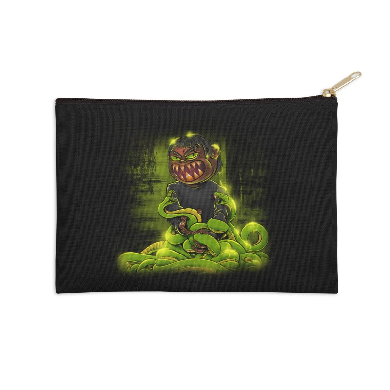 Toxic snakes Accessories Zip Pouch by fishark's Artist Shop