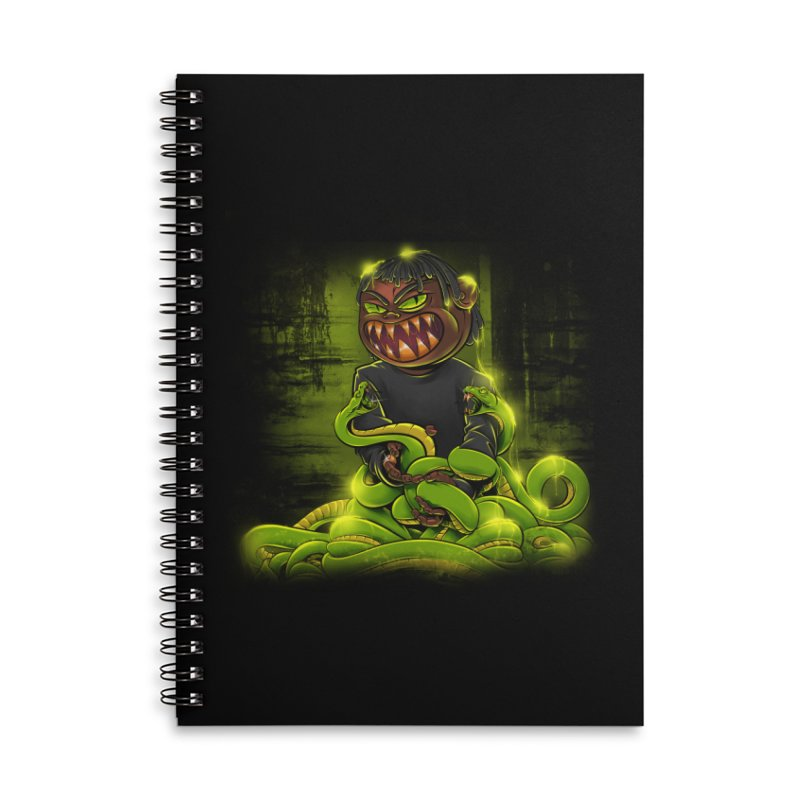 Toxic snakes Accessories Lined Spiral Notebook by fishark's Artist Shop