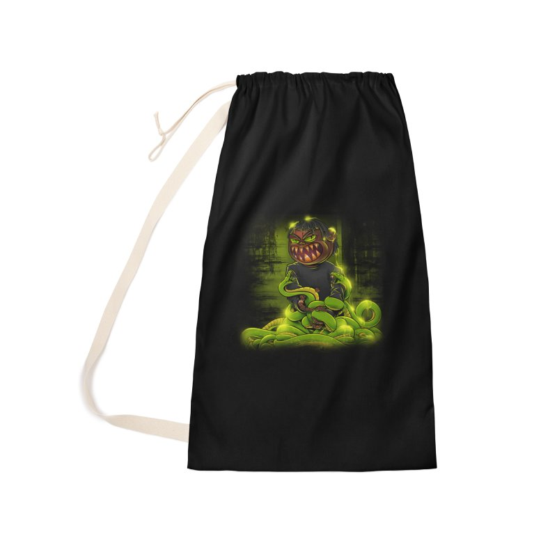 Toxic snakes Accessories Bag by fishark's Artist Shop