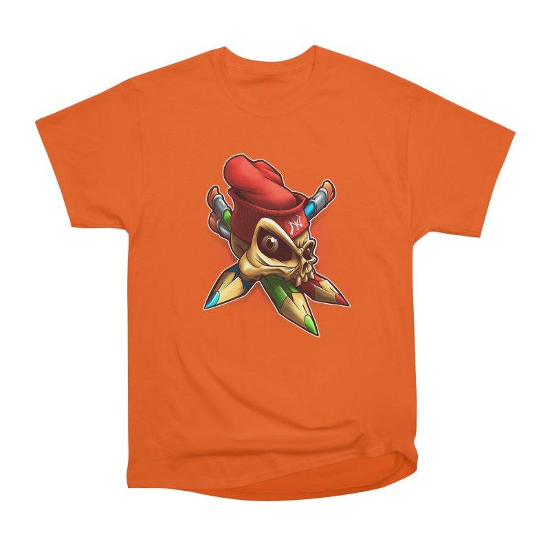 Skull Men's T-Shirt by fishark's Artist Shop