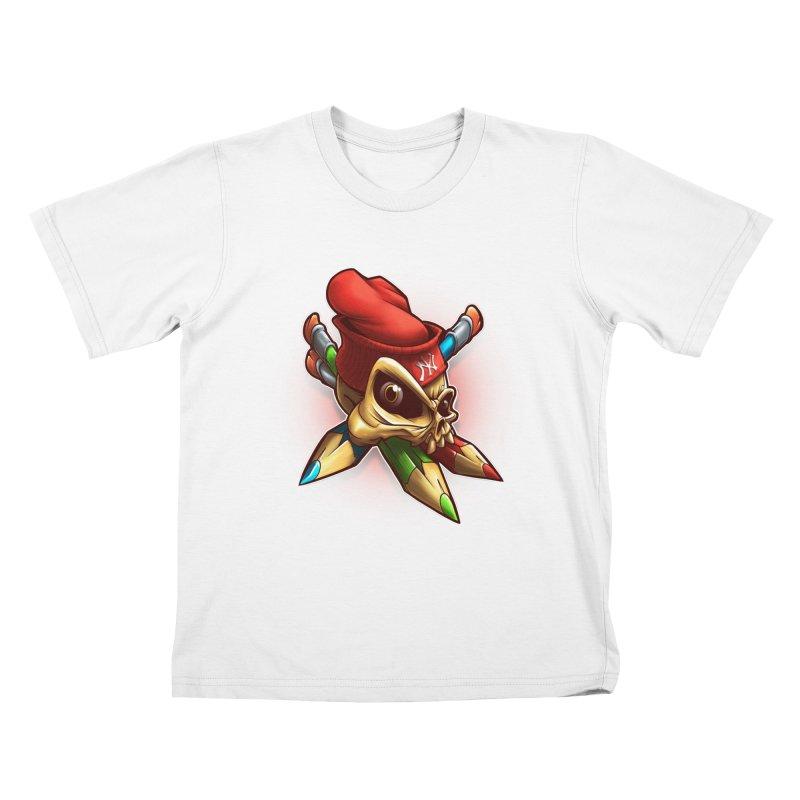 Skull Kids T-Shirt by fishark's Artist Shop