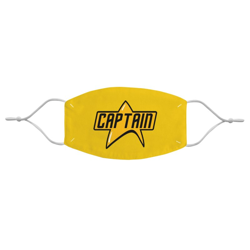 Star Captain Accessories Face Mask by Fishbiscuit Designs