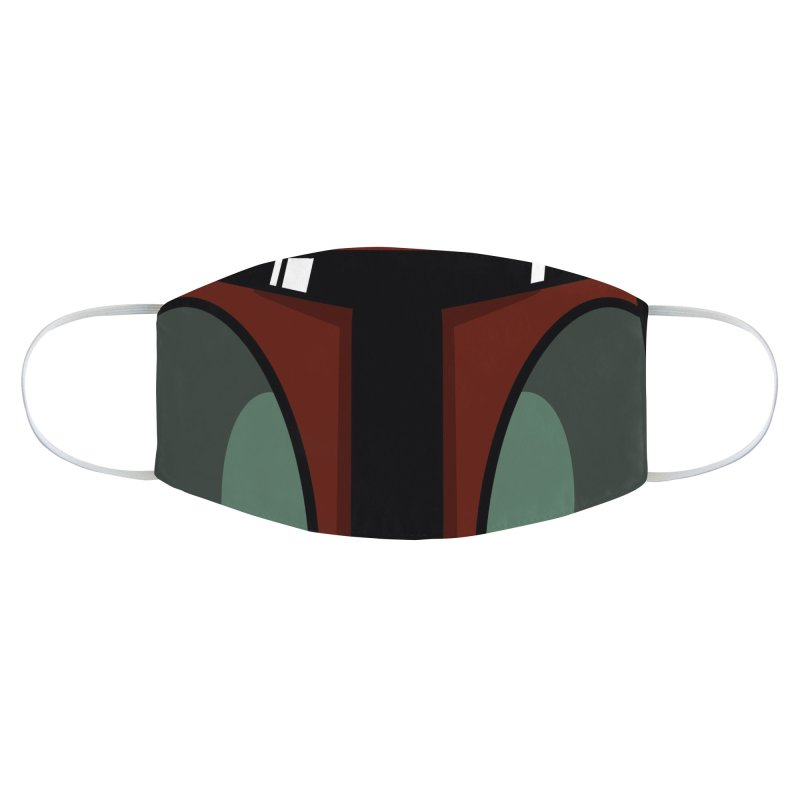 Boba Helmet Accessories Face Mask by Fishbiscuit Designs