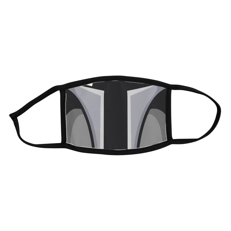 Mando Helmet Accessories Face Mask by Fishbiscuit Designs