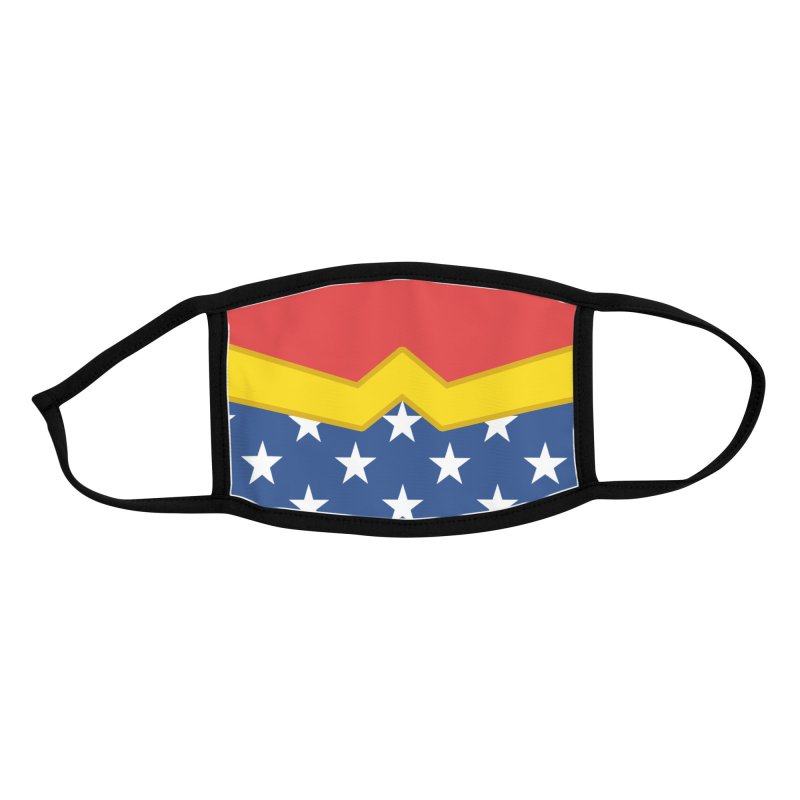 Wonder Hero Accessories Face Mask by Fishbiscuit Designs