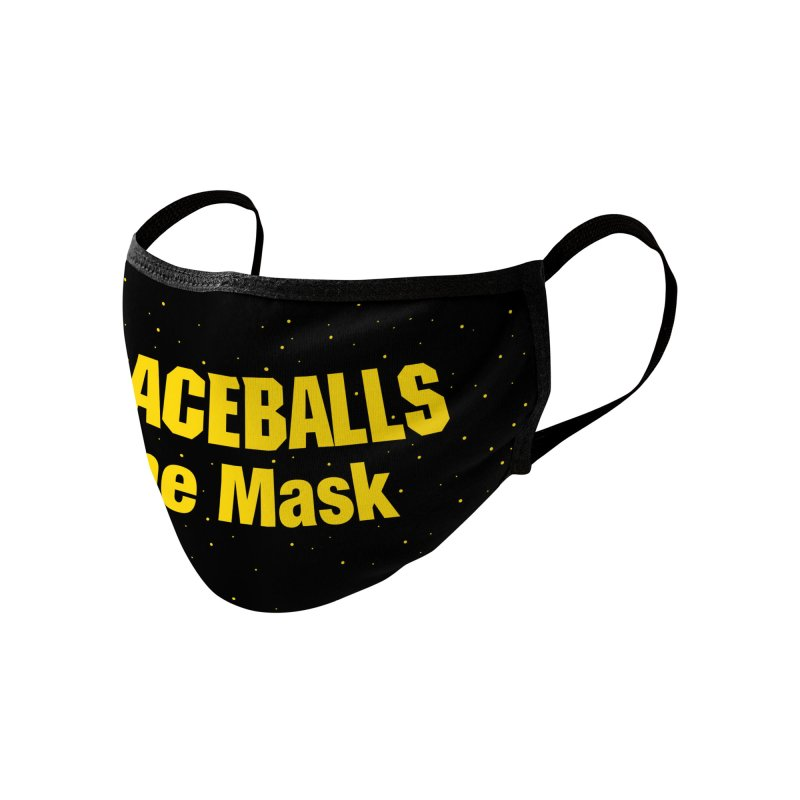 Spaceballs the Mask Accessories Face Mask by Fishbiscuit Designs