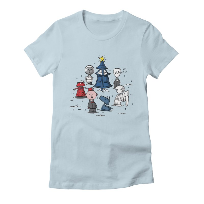 A Charlie Who Christmas Women's Fitted T-Shirt by fishbiscuit's Artist Shop