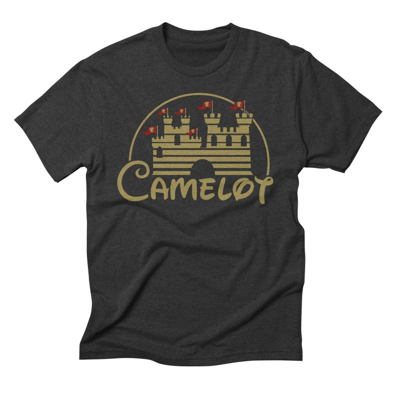 Camelot Men's Triblend T-Shirt by fishbiscuit's Artist Shop