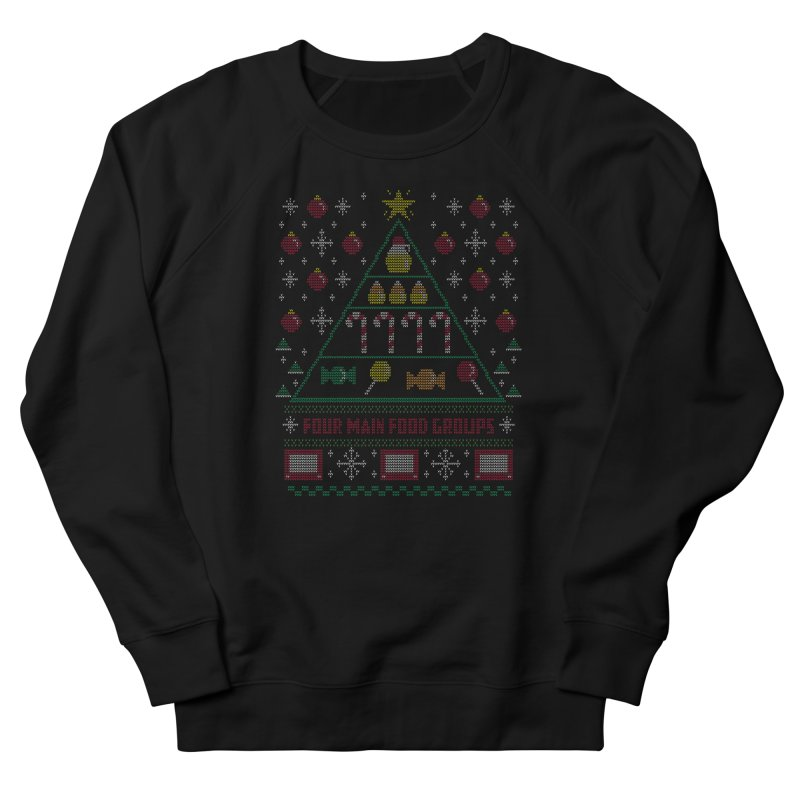 Elf Food Pyramid Men's Sweatshirt by fishbiscuit's Artist Shop