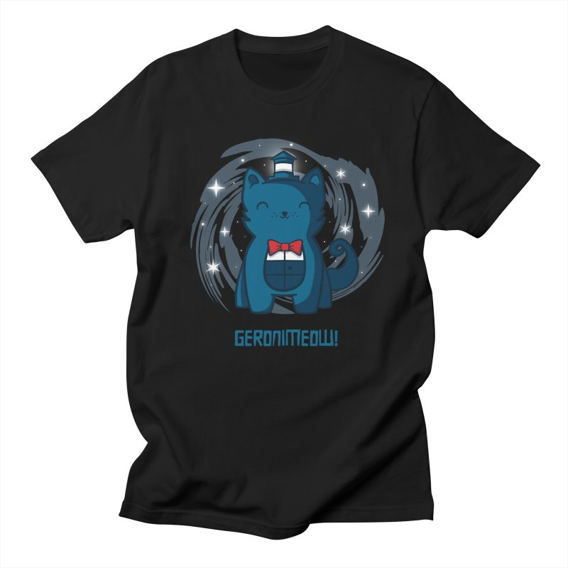 Geronimeow Men's T-Shirt by fishbiscuit's Artist Shop