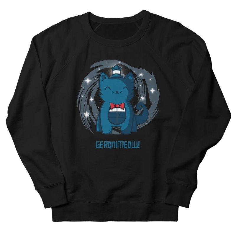Geronimeow Women's Sweatshirt by fishbiscuit's Artist Shop