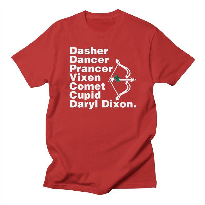 Santa's Helper Men's T-shirt by fishbiscuit's Artist Shop
