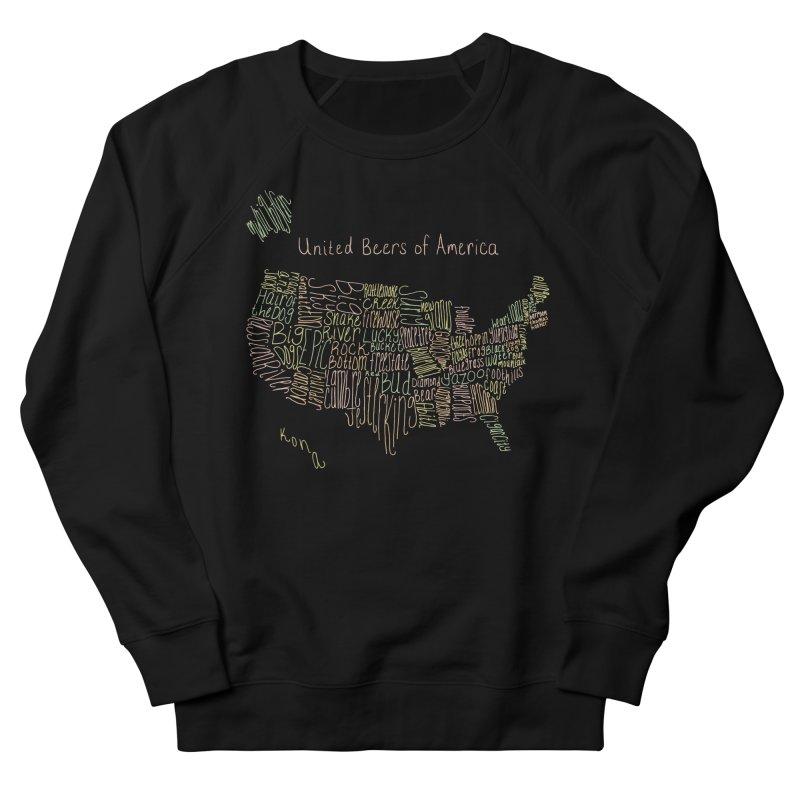 United Beers of America Women's Sweatshirt by fishbiscuit's Artist Shop