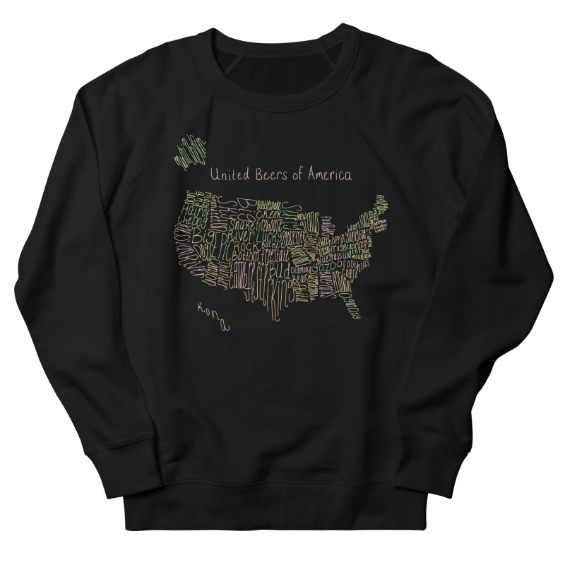 United Beers of America Men's Sweatshirt by fishbiscuit's Artist Shop