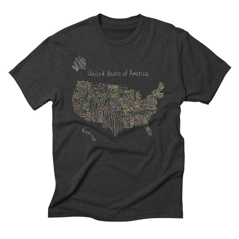 United Beers of America Men's Triblend T-Shirt by fishbiscuit's Artist Shop