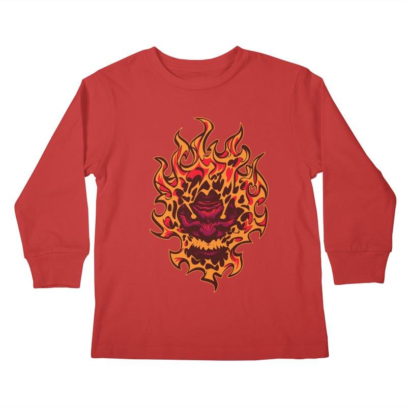 """You make me Bad"" Kids Longsleeve T-Shirt by fishfinger's Artist Shop"