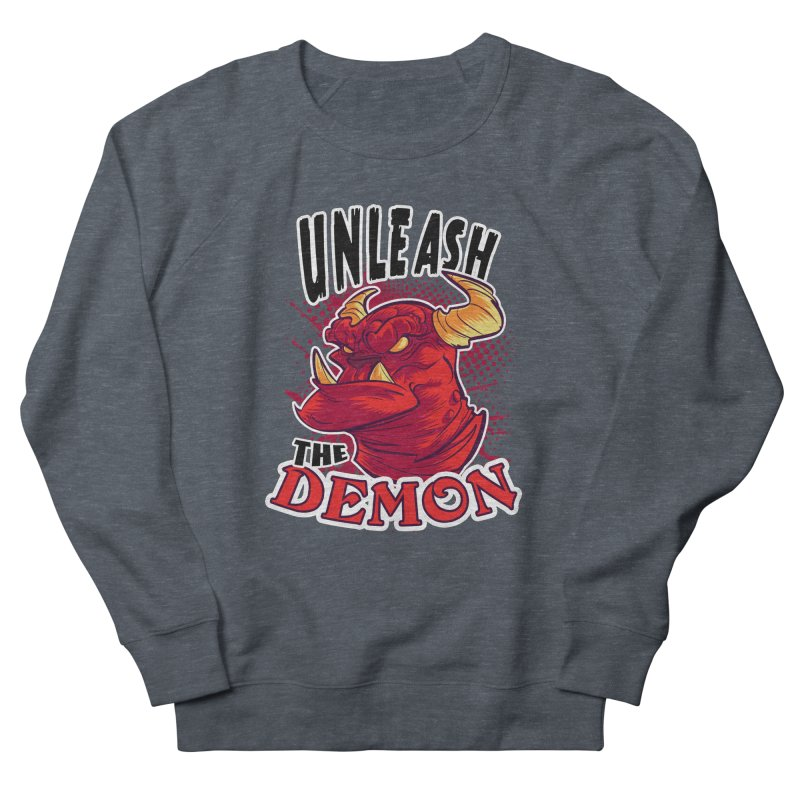 Unleash the Demon Women's Sweatshirt by fishfinger's Artist Shop
