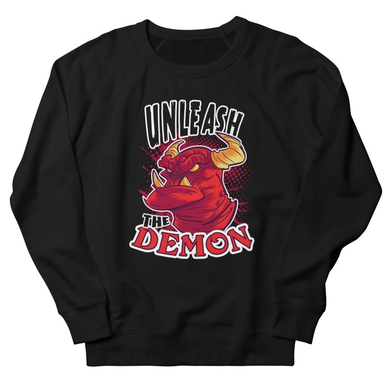 Unleash the Demon Men's Sweatshirt by fishfinger's Artist Shop