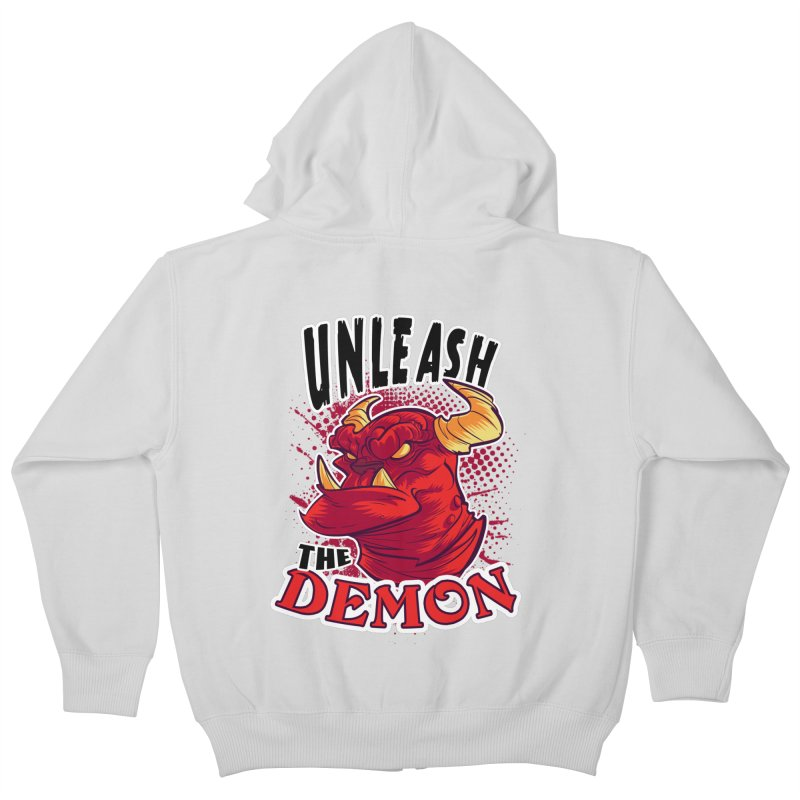 Unleash the Demon   by fishfinger's Artist Shop