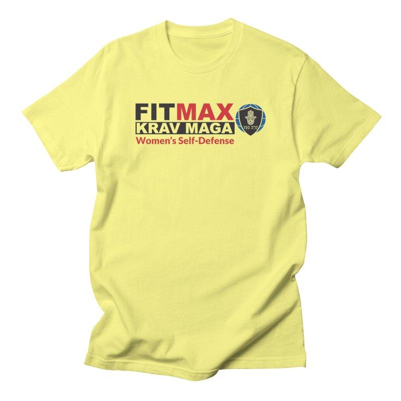 FITMAX Krav Maga - Women's Self Defense Men's T-Shirt by fitmaxkravmaga's Artist Shop