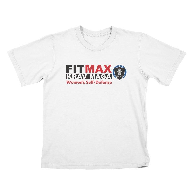FITMAX Krav Maga - Women's Self Defense Kids T-Shirt by fitmaxkravmaga's Artist Shop