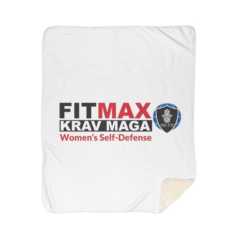 FITMAX Krav Maga - Women's Self Defense Home Blanket by fitmaxkravmaga's Artist Shop